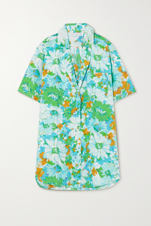 Faithfull The Brand + NET SUSTAIN Charlita floral-print linen shirt