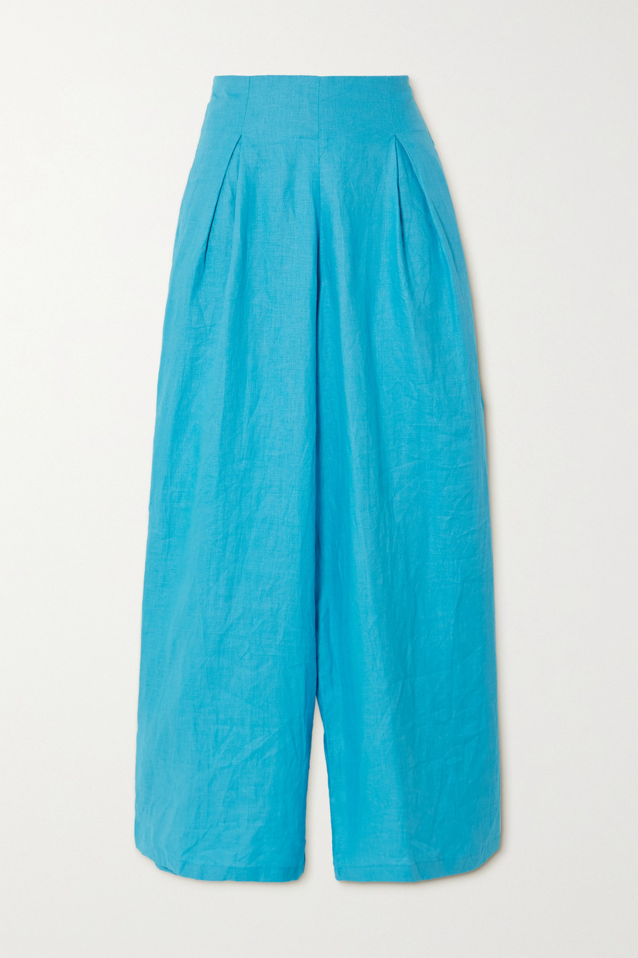 Faithfull The Brand + NET SUSTAIN Meridian linen wide-leg pants