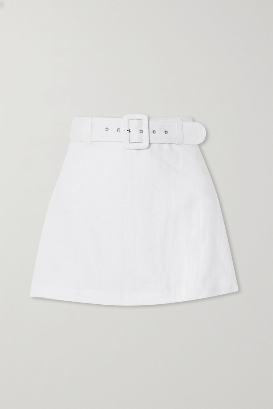 Faithfull The Brand + NET SUSTAIN Celia belted linen shorts
