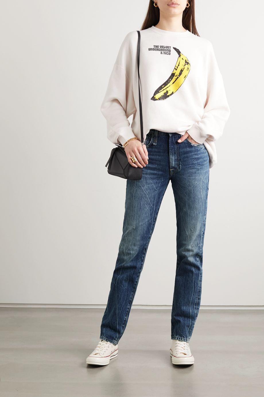 R13 Axl high-rise straight-leg jeans