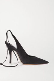The Attico Venus Pumps aus Satin