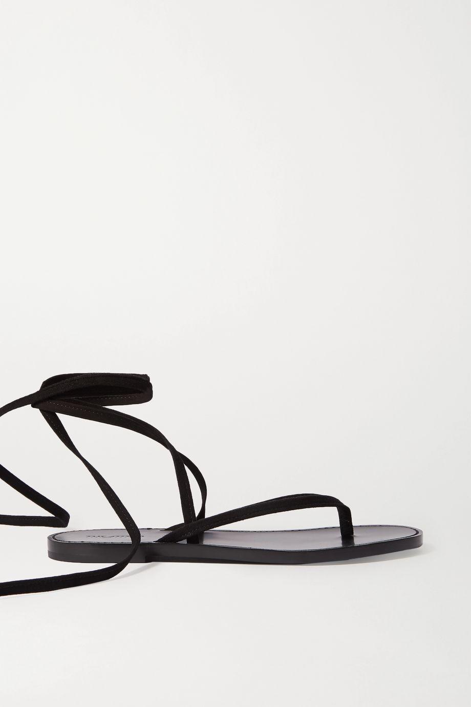 The Attico Flora leather sandals