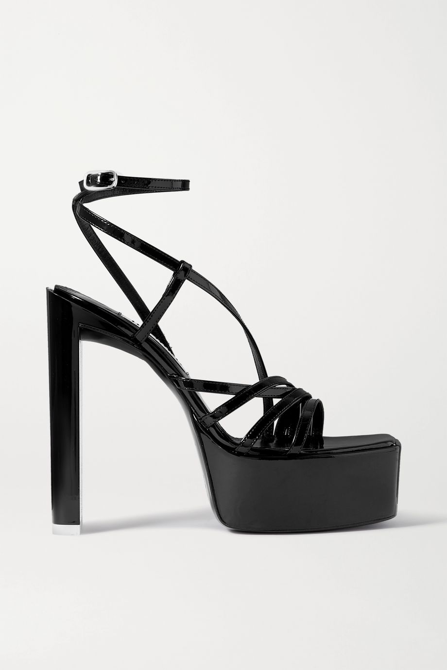 The Attico Venice patent-leather platform sandals