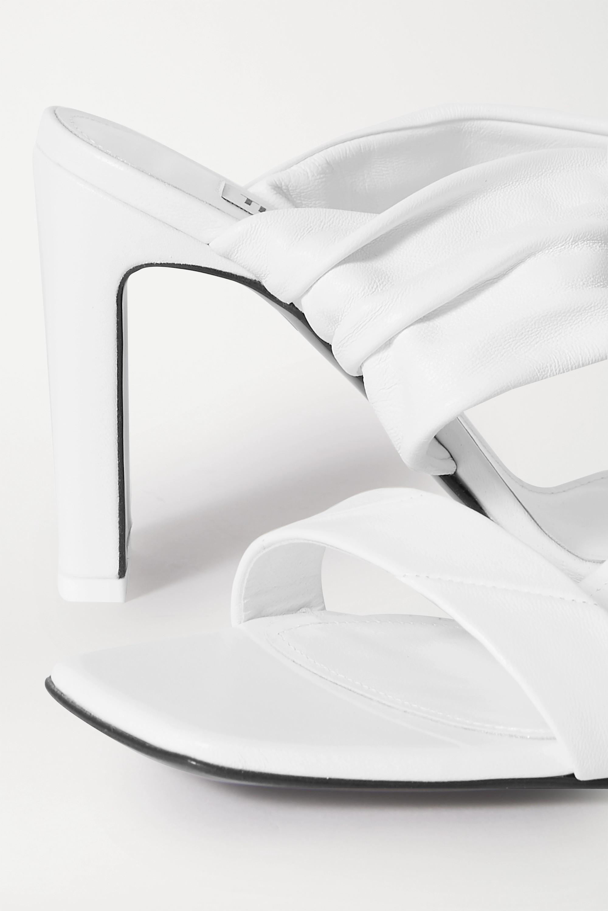 The Attico Paris leather sandals