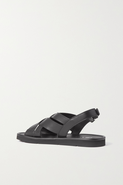 Prada Slingback-Sandalen aus Leder
