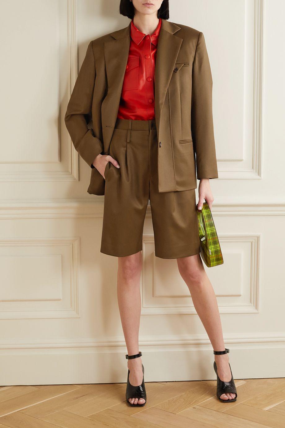 Commission Wool-twill blazer
