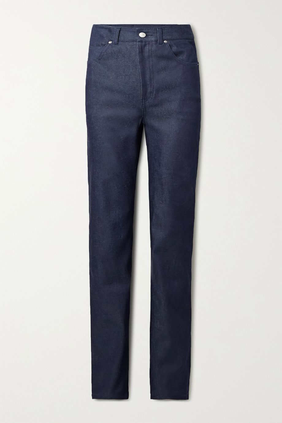 Commission High-rise straight-leg jeans
