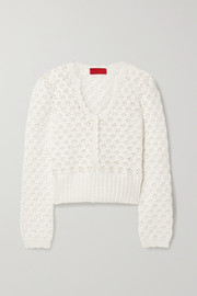 Commission Crocheted cotton sweater
