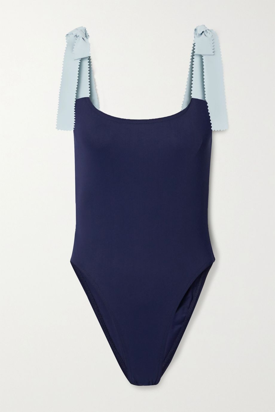 Karla Colletto Giselle two-tone swimsuit
