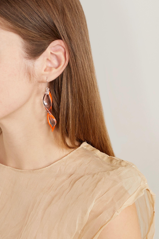 Maryam Nassir Zadeh Posidonia glass earrings