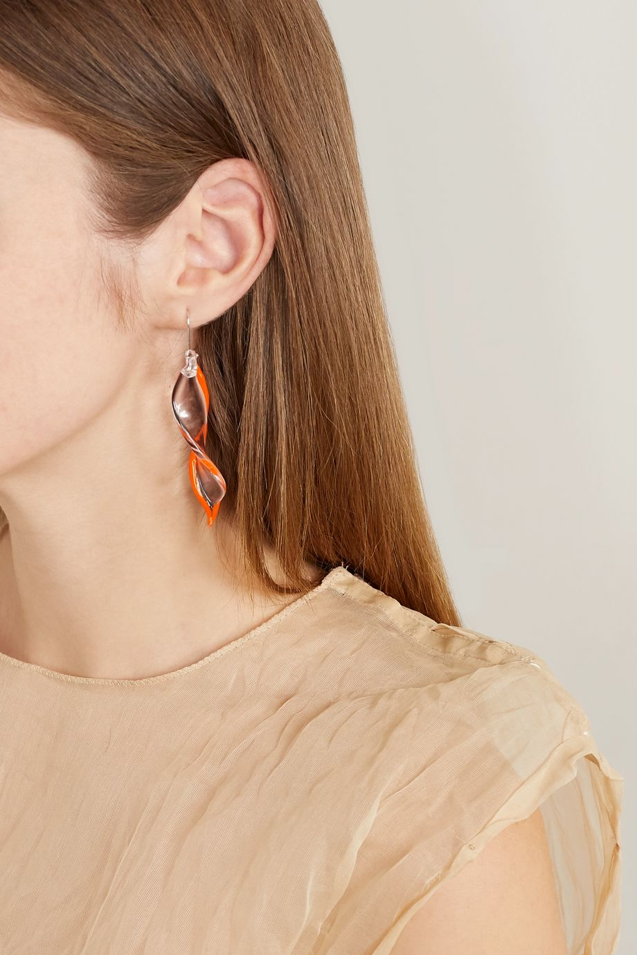 Maryam Nassir Zadeh Posidonia glass earrings