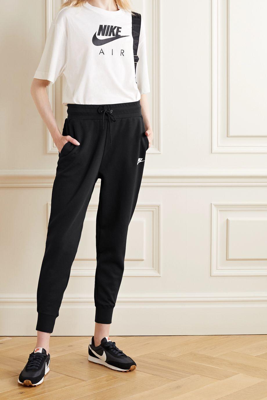 Nike Cotton-blend track pants