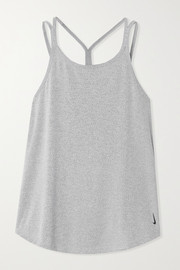 Nike Yoga Strappy striped Dri-FIT tank
