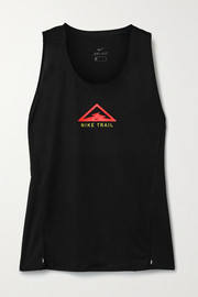 Nike City Sleek printed Dri-FIT tank