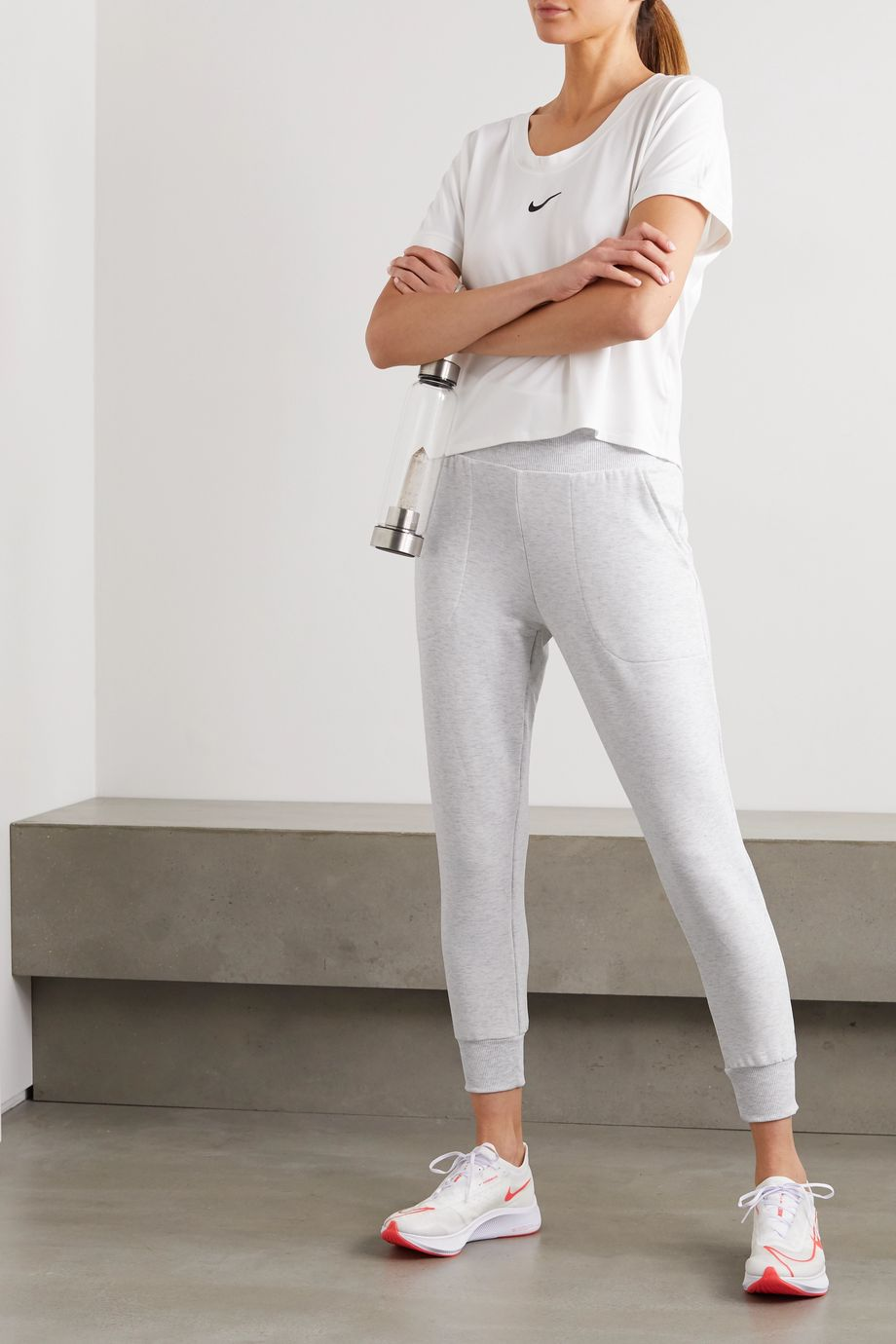 Nike Flow Hyper Jogginghose aus Stretch-Jersey