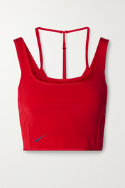 Nike City Ready cropped layered stretch tank