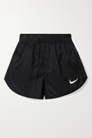 Nike Icon Clash belted ripstop shorts