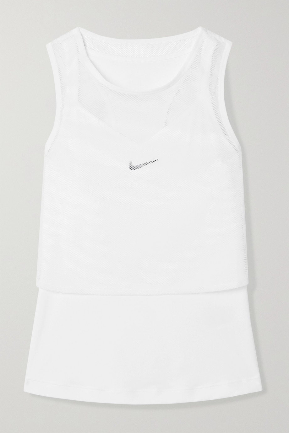 Nike Court layered Dri-FIT and mesh tank