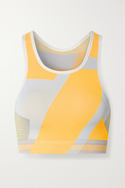 Nike Icon Clash color-block Dri-FIT stretch-knit sports bra