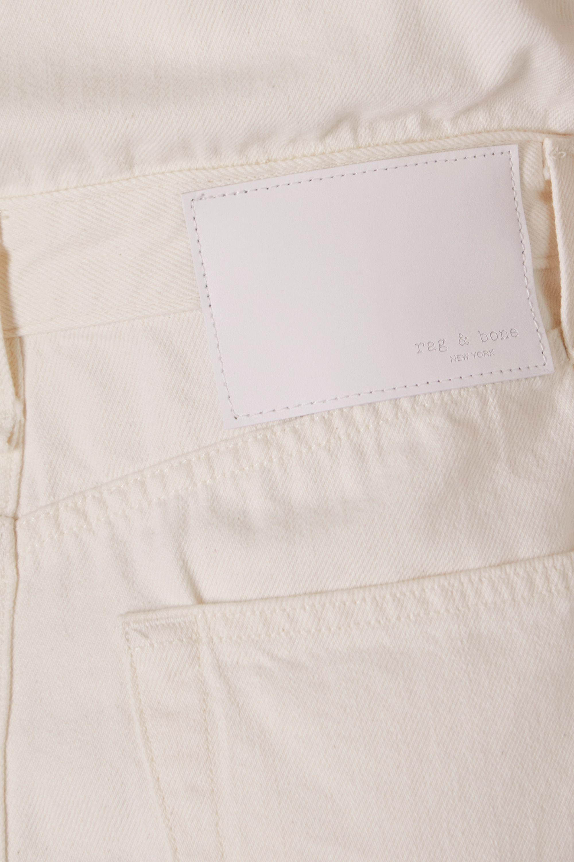 rag & bone Mini-robe-chemise en jean