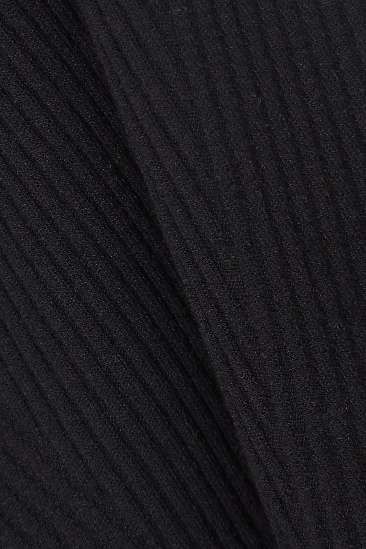 rag & bone Débardeur en mailles côtelées bicolores Kishi