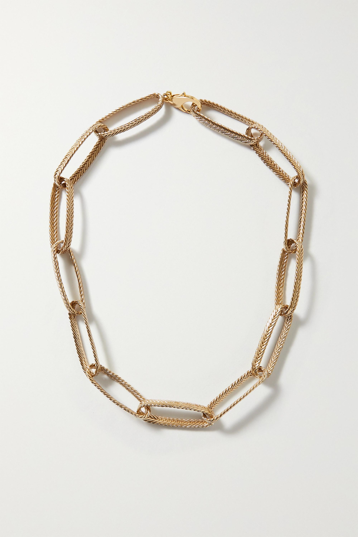 STVDIO Claude gold-tone necklace
