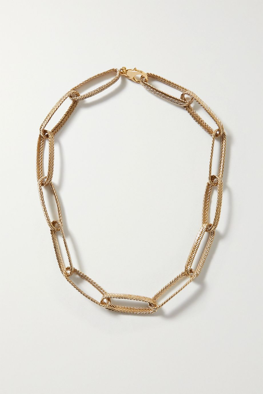 STVDIO Claude gold-tone necklace