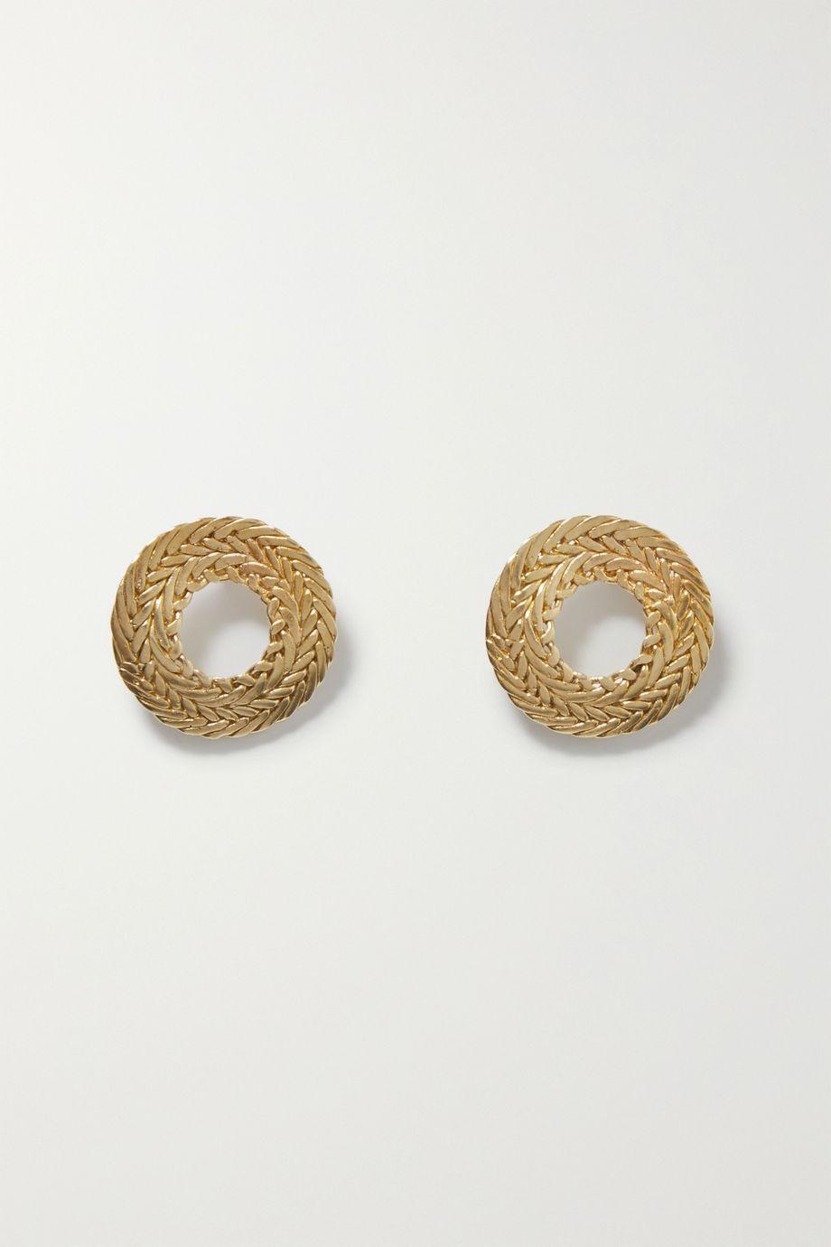STVDIO Petite Colette gold-tone earrings