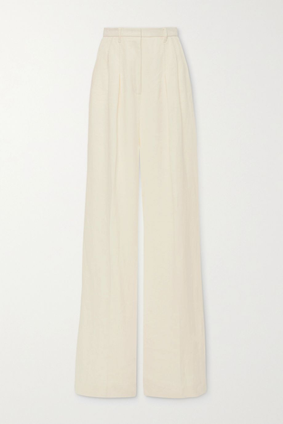 Gabriela Hearst Pantalon large en lin Vargas