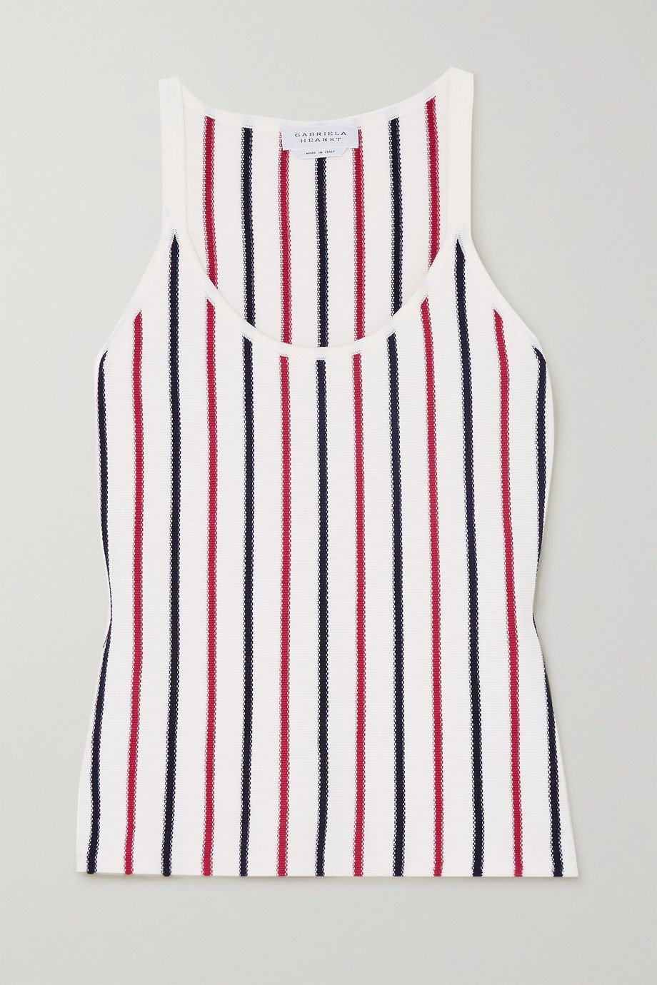 Gabriela Hearst Luis striped wool tank