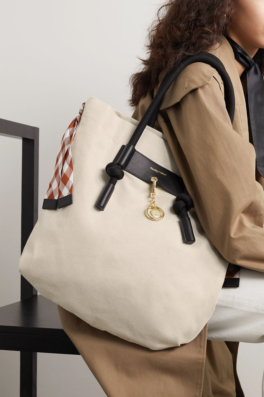 See By Chloé Beth canvas shoulder bag