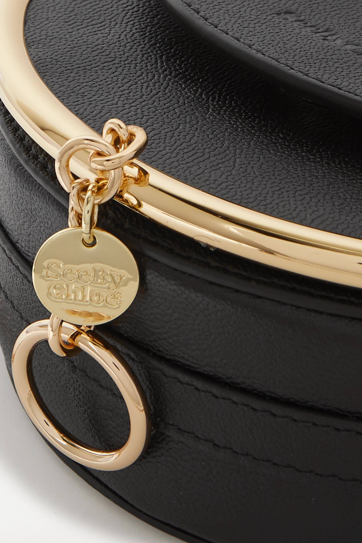 See By Chloé Sac porté épaule en cuir texturé à ornements Mara