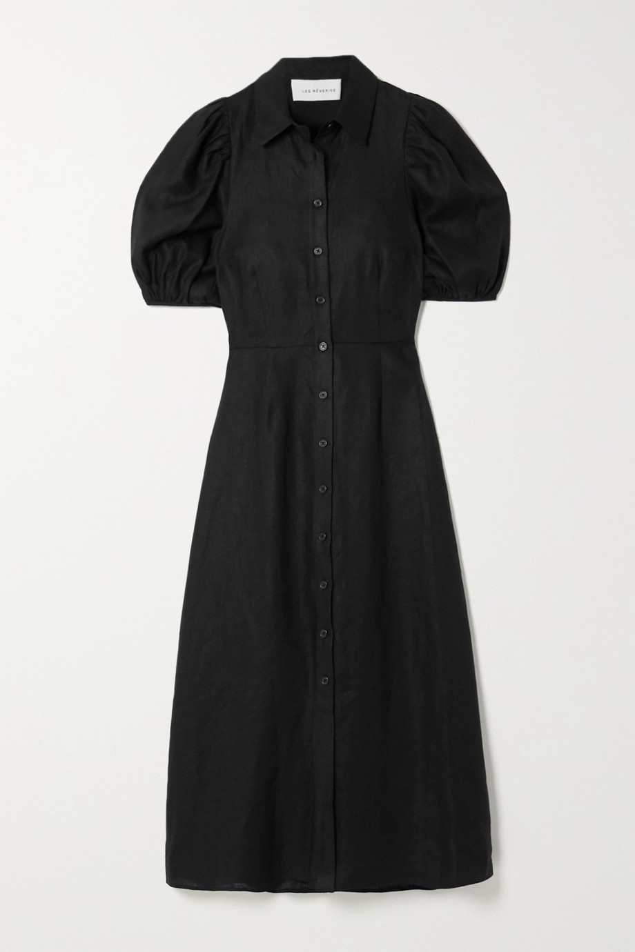Les Rêveries Linen shirt dress