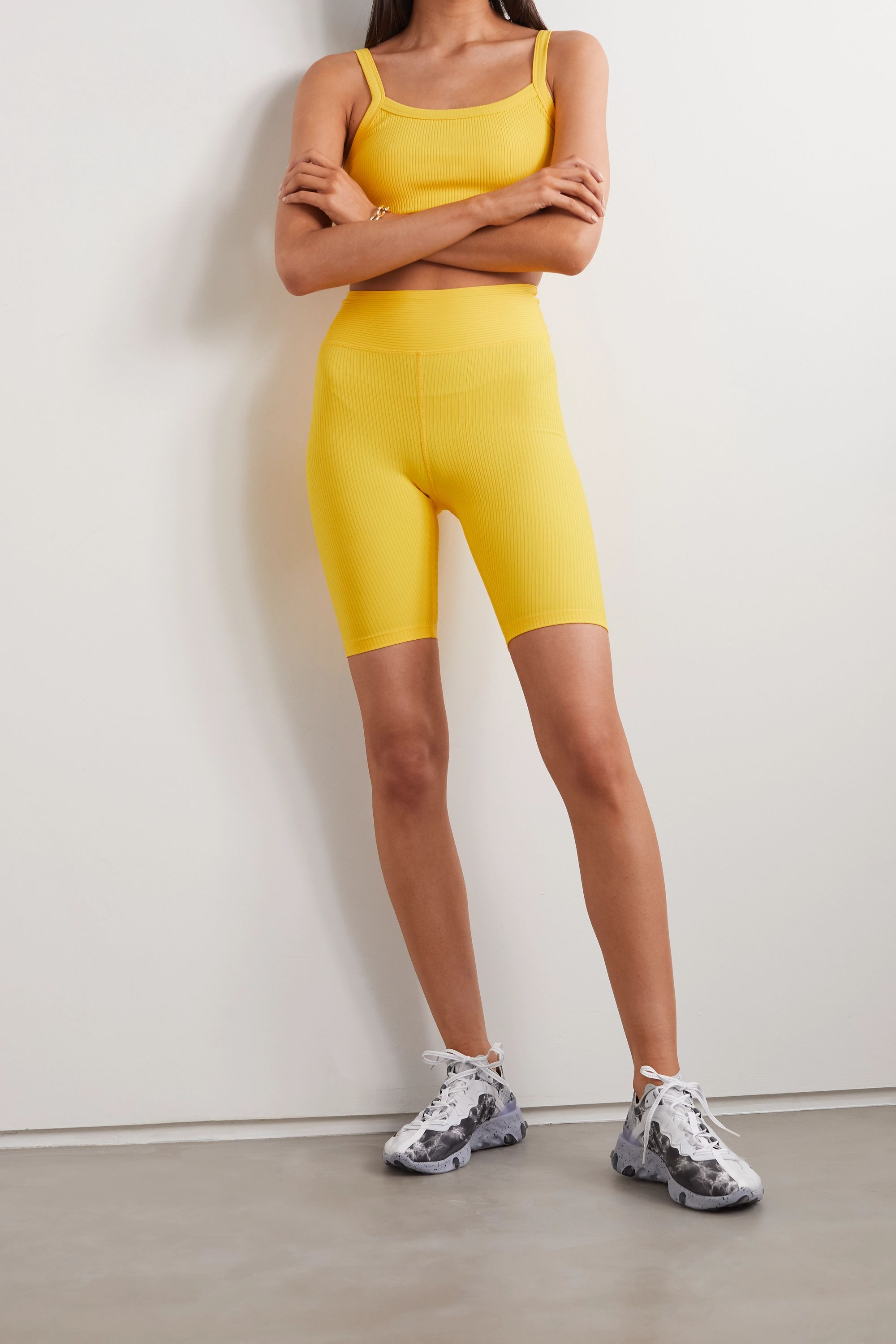 Year of Ours Ribbed stretch shorts