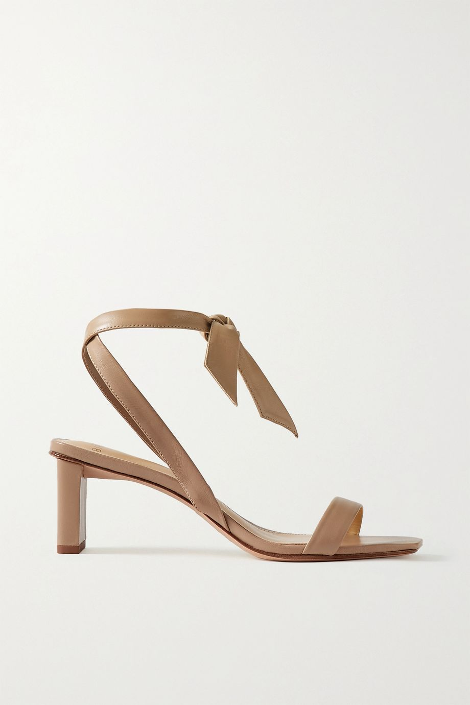 Alexandre Birman Katie bow-embellished leather sandals