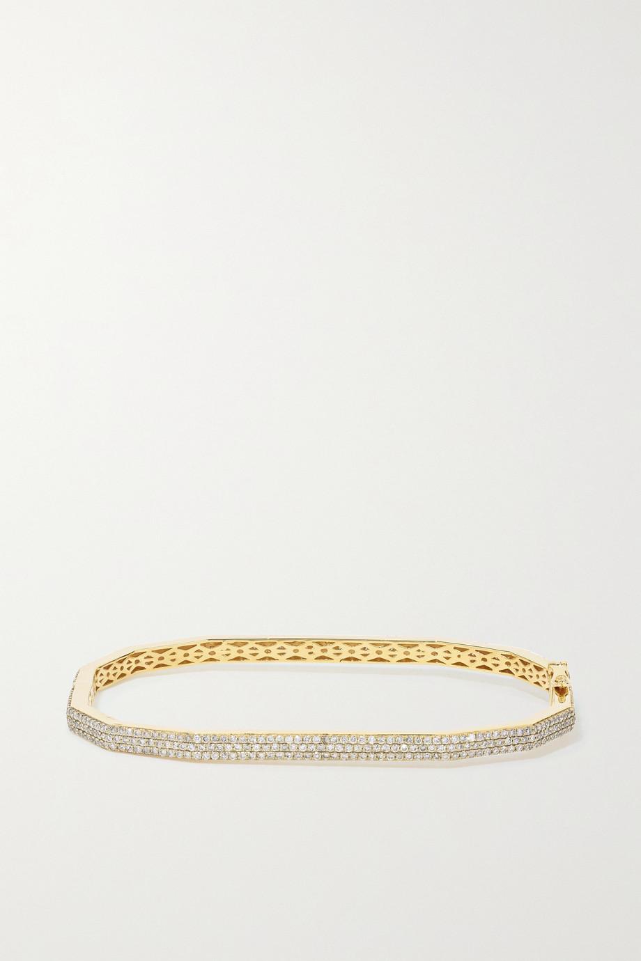 OFIRA 18-karat gold diamond bracelet