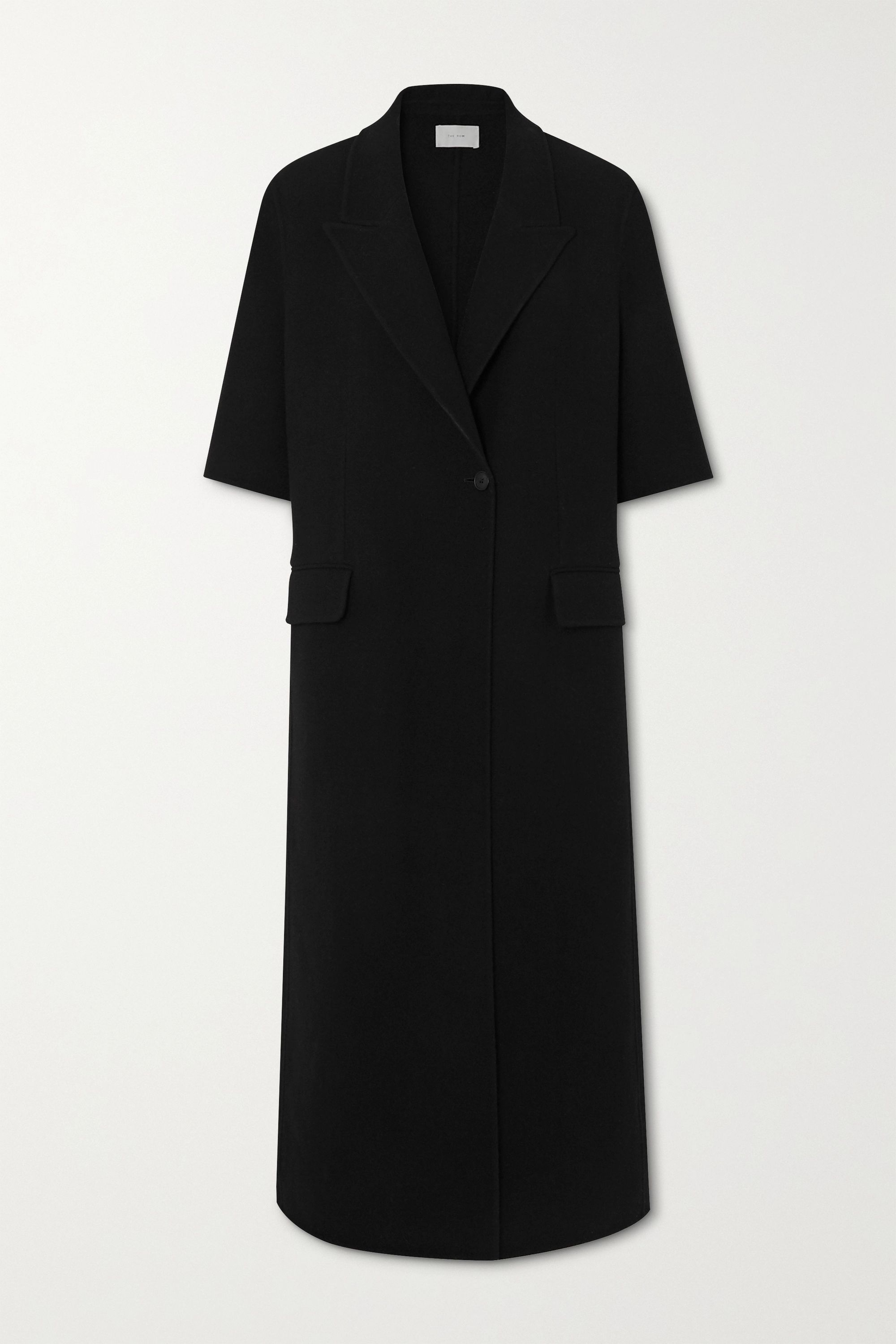 The Row Harriet wool and cashmere-blend felt coat