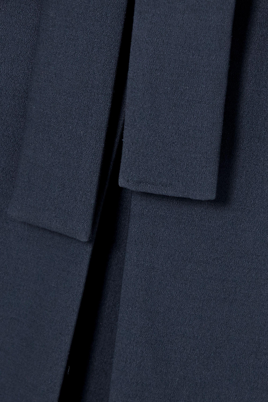 The Row Jaan Kleid aus einer Wollmischung mit Bindegürtel