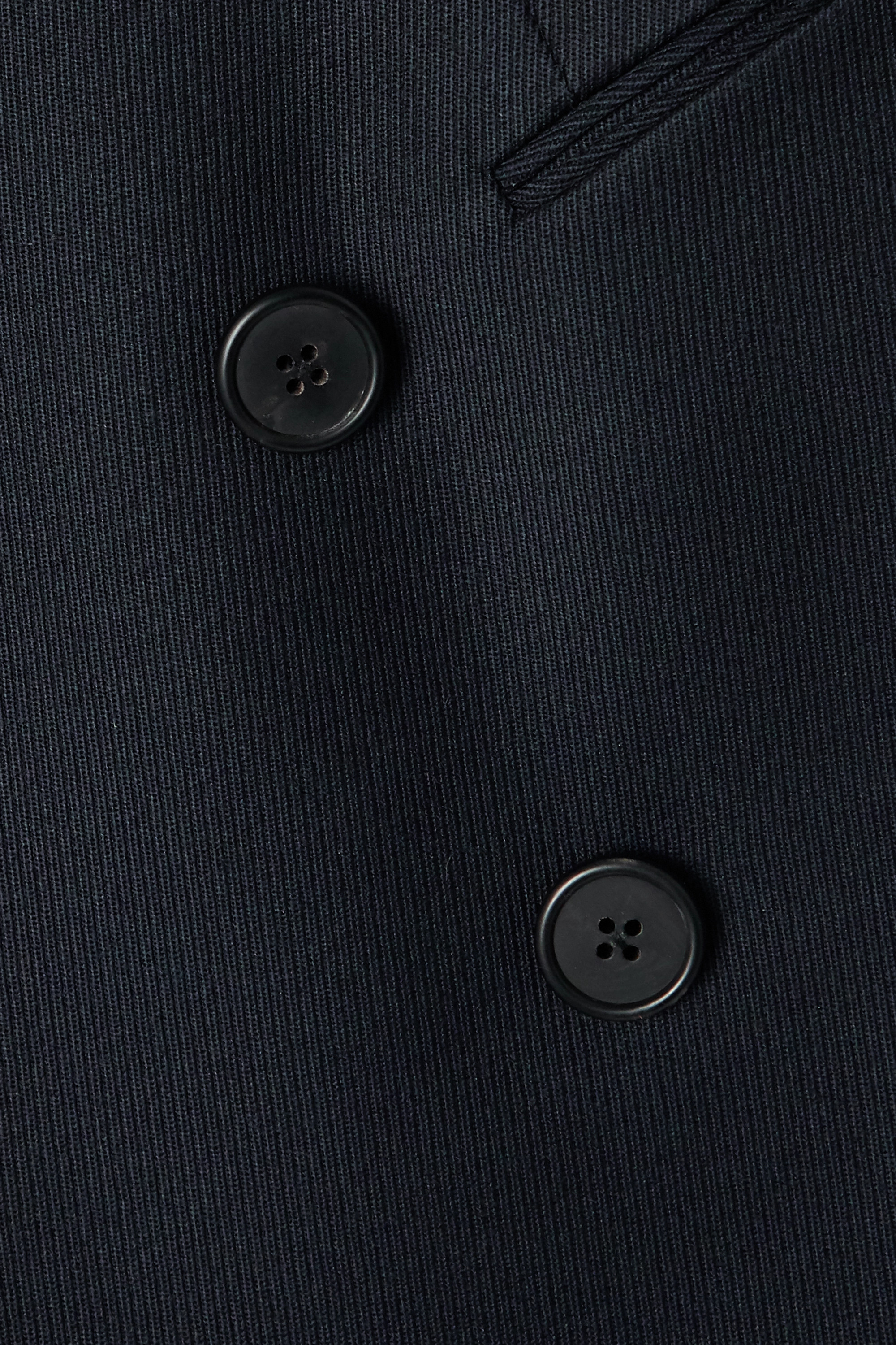 The Row Lanois double-breasted wool-twill blazer