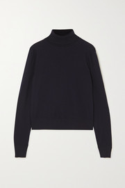 The Row Chanic merino wool and cashmere-blend turtleneck sweater