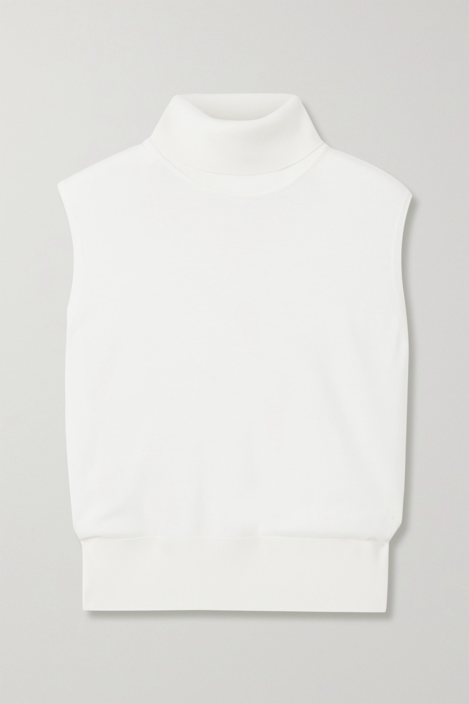 The Row Chano merino wool and cashmere-blend turtleneck sweater