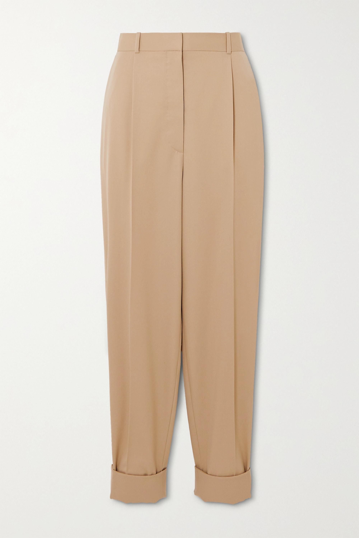 The Row Marta tapered wool-twill pants