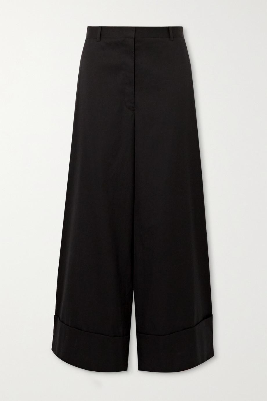 The Row Carter cotton wide-leg pants
