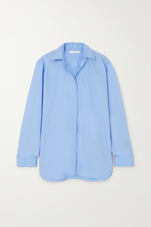 The Row Big Sisea oversized cotton-poplin shirt