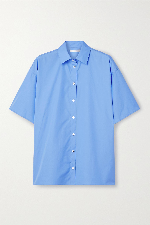 The Row Sissa 大廓形纯棉府绸衬衫