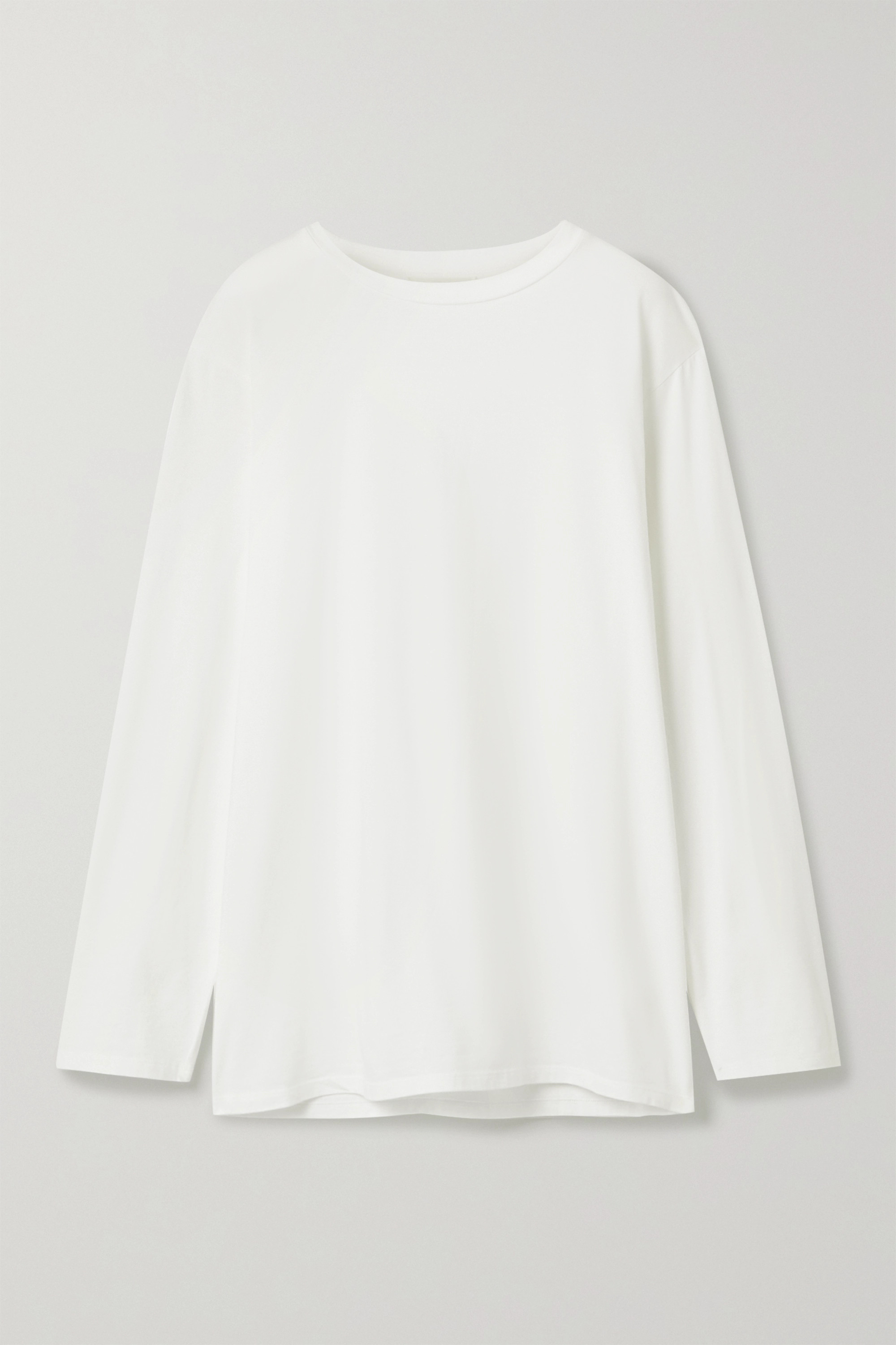 The Row Autie cotton-jersey top