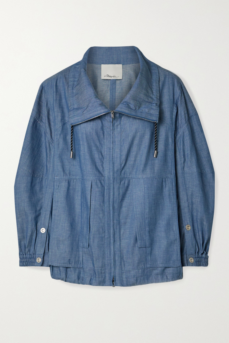 3.1 Phillip Lim Cotton-chambray jacket