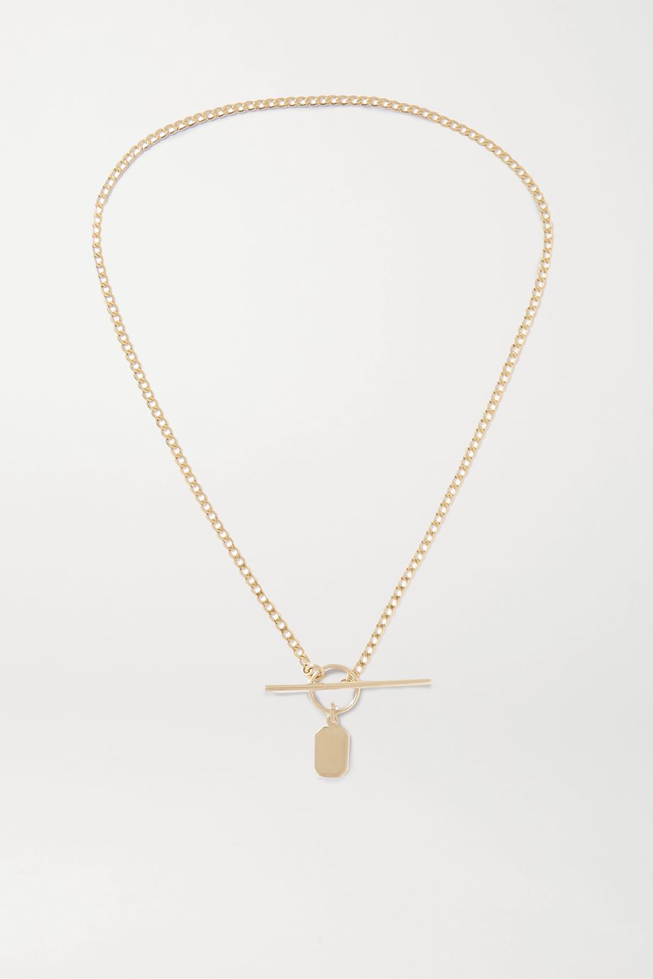 Loren Stewart + NET SUSTAIN 14-karat gold necklace