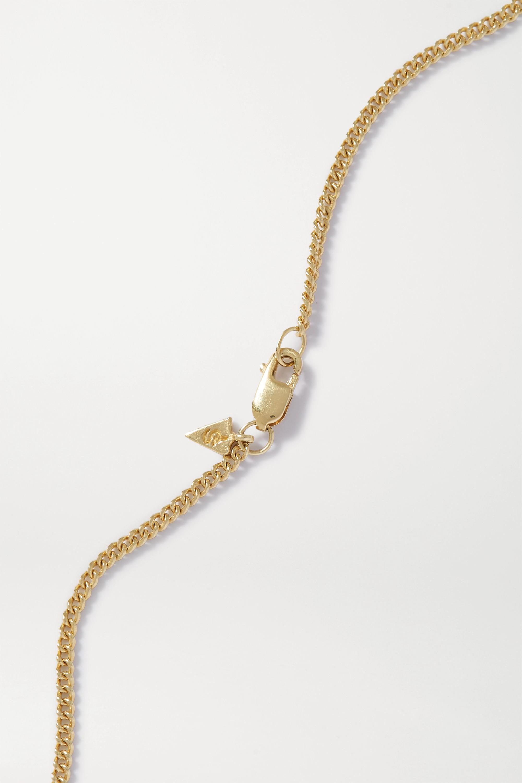Loren Stewart + NET SUSTAIN 14-karat gold necklace