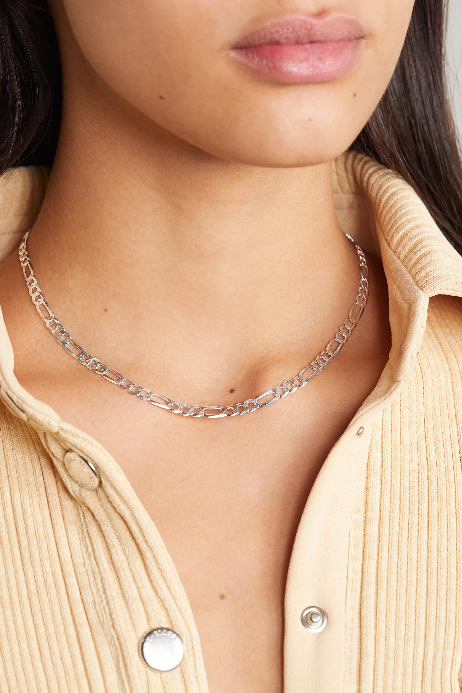 Loren Stewart + NET SUSTAIN silver necklace